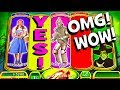 MASSIVE WIN!!! I CLEARED THE WITCH BONUS on 'RUBY SLIPPERS'! ★ MAX BET!! ★ BRENT SLOTS