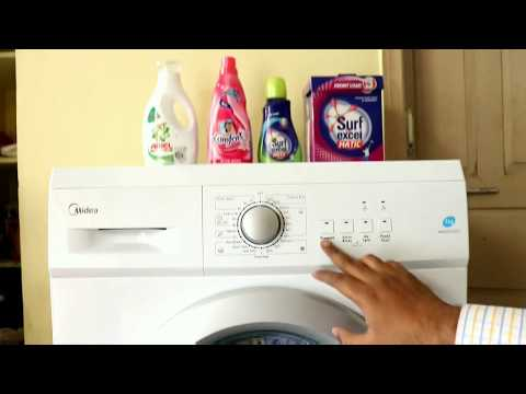 Midea Fully Automatic Front Load Washing Machine Full Review in Telugu