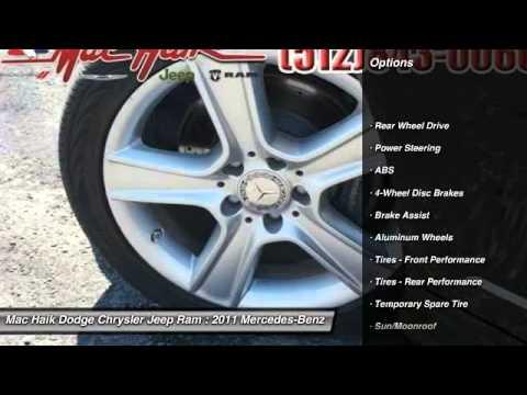 Mac Haik Dodge Temple Tx >> 2011 Mercedes-Benz C-Class Temple TX B133528 - YouTube