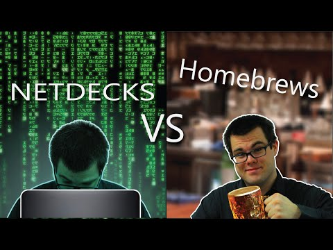 Netdecks Vs Homebrews in Magic: the Gathering!
