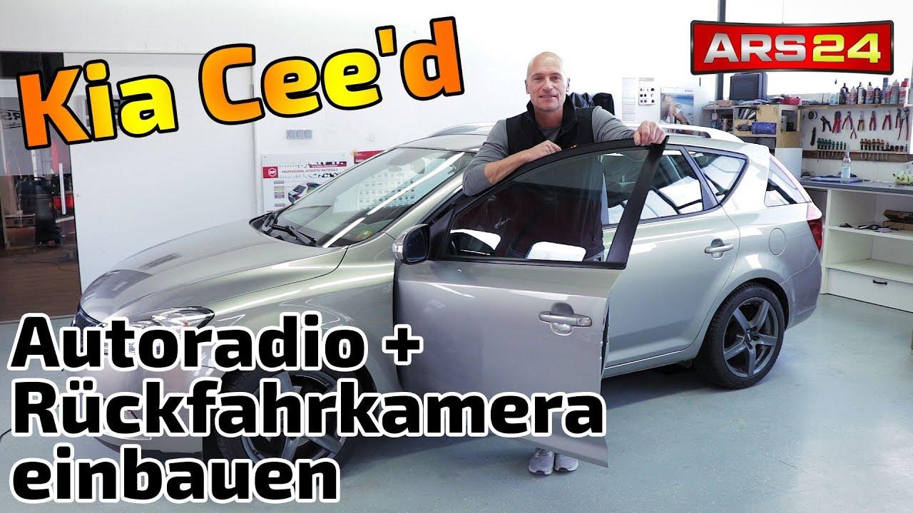 Schema Elettrico Kia Ceed : Kia cee d autoradio einbauen rückfahrkamera und dachantenne