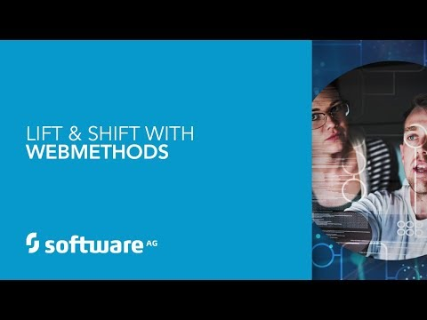 Lift & Shift with webMethods