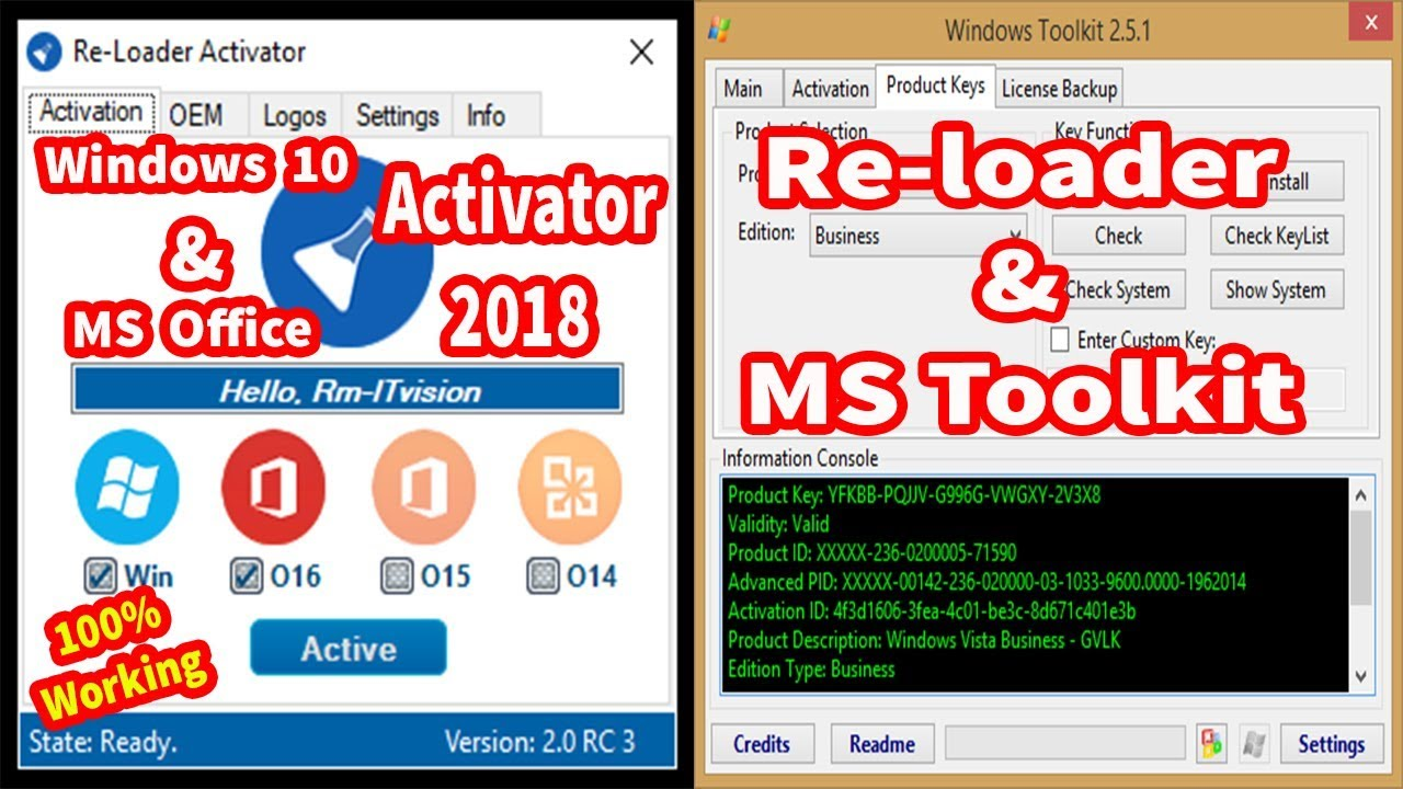 windows 2016 activator