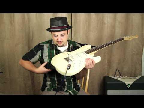 Marty Schwartz Guitar Lessons - Quick Tip 1 - Cable through your strap technique