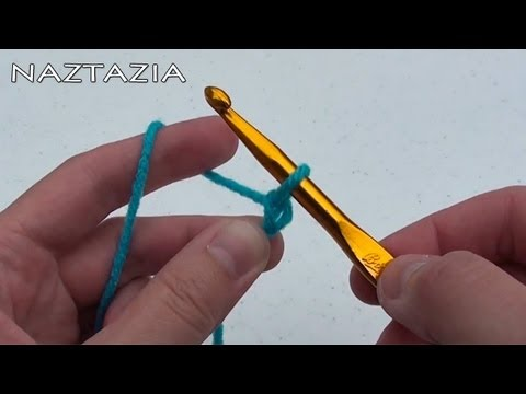 Crocheting Youtube Videos : Learn How to Crochet - For Absolute Beginners - Beginner Chain Single ...