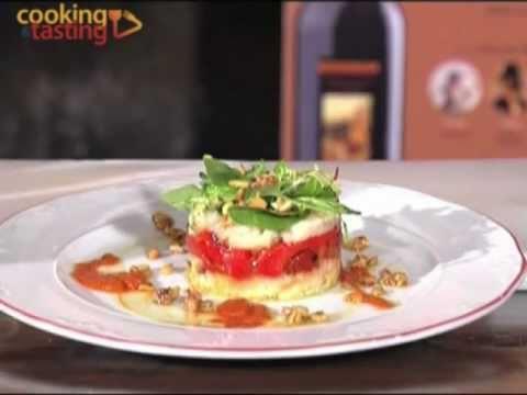 Ensalada de bacalao con patata pimiento asado y vinagreta - Bacalao con garbanzos y patatas ...