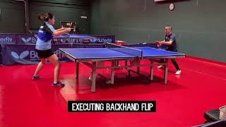 Backhand Flip & Random