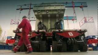 abb transport and positioning of transformers