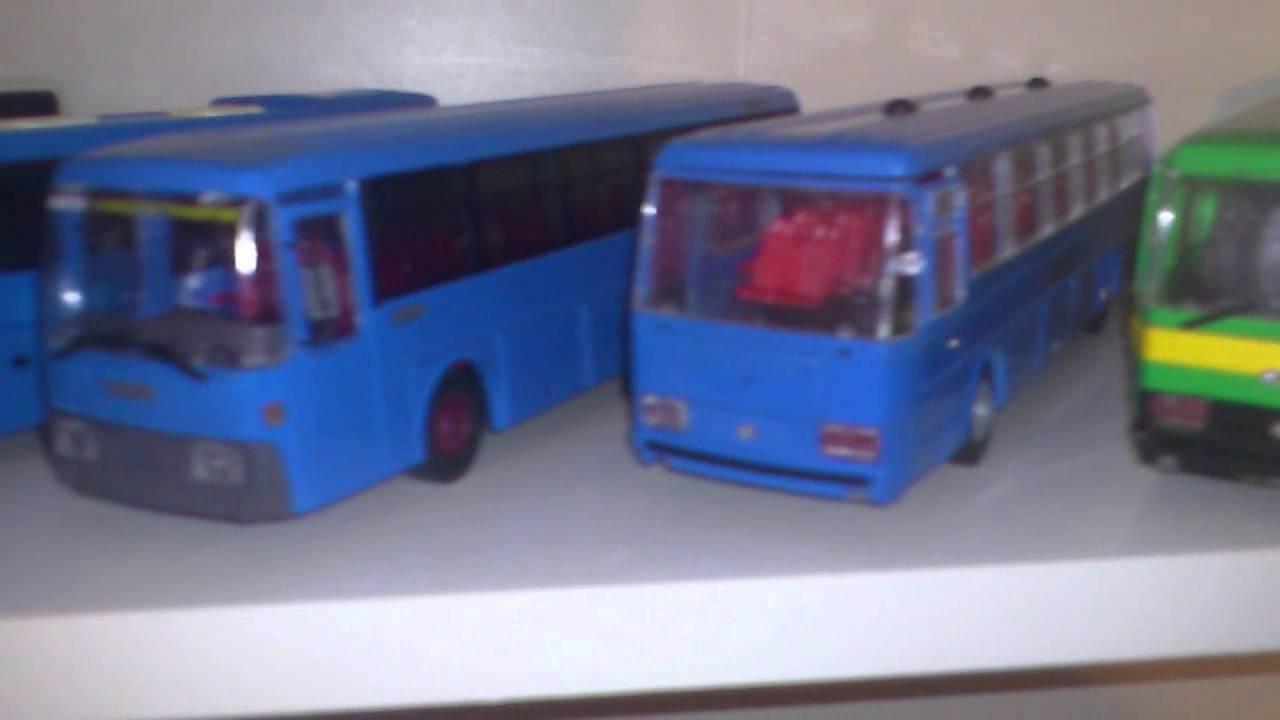 Modellini di autobus Old Cars, NZG, Minichamps - YouTube