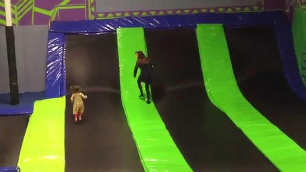 Full Look At Steel City Indoor Trampoline Park In Birmingham Great