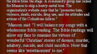 Marilyn Manson: Best Artist Ever (Eat Drink ME)