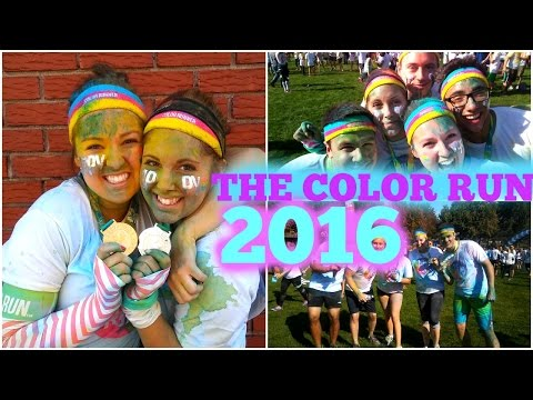 THE HAPPIEST 5K| COLOR RUN SHERBROOKE 2016