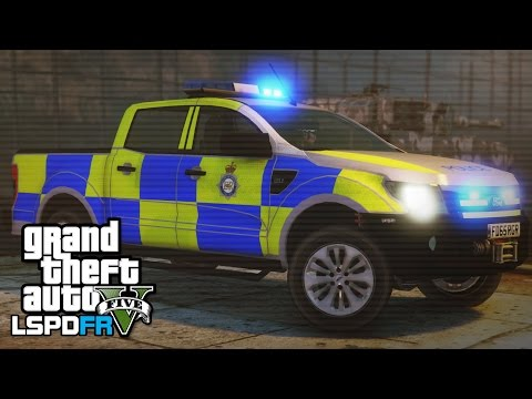 GTA 5 LSPDFR - Ministry of Defence Police & Fort Zancudo patrol - The British way #52