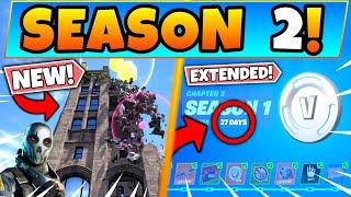 Fortnite SEASON 2 TEASER REVEALED & SEASON EXTENDED! New Update in Battle Royale!