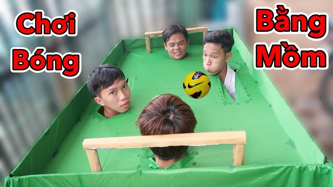 LamTV – Thử Chơi Đá Bóng Bằng Mồm Siêu Lầy – Đá Banh Bằng Đầu   Play football with your head