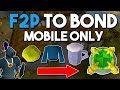 How to Earn a Bond From Scratch in F2P! - Ep 2 - Oldschool Runescape F2P Money Making Guide [OSRS]