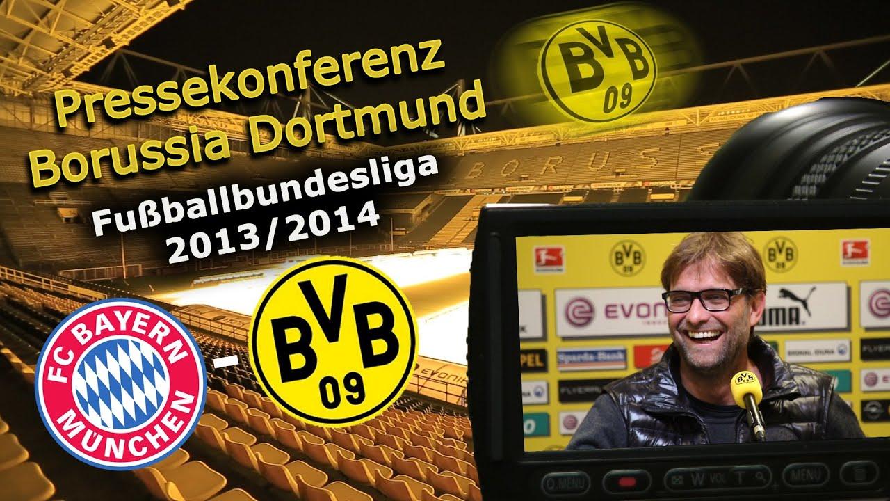 BVB Pressekonferenz vom 10. April 2014 vor dem Bundesliga Topspiel FC Bayern München gegen Borussia Dortmund