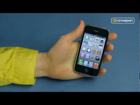 Видео обзор Apple iPhone 3GS от Сотмаркета
