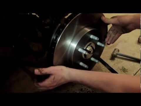 2010 Ford Fusion Rear Brake Change And Rotor Change How