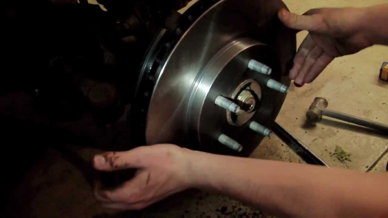 how to 09 ford escape brake change youtube