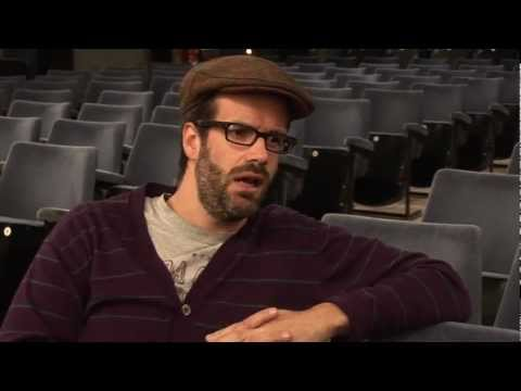 An interview with Comedian, Marcus Brigstocke, at Princess Pavillion, Falmouth - 2nd March 2013