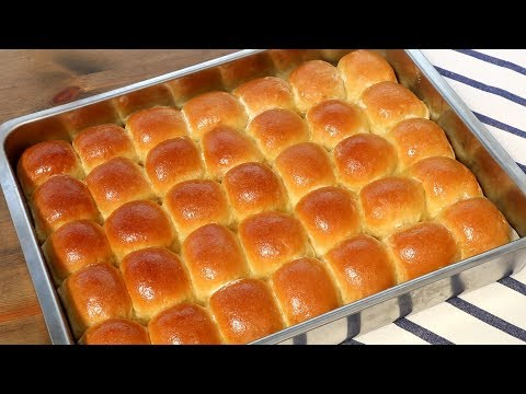 Quick Dinner Rolls Recipe / Soft And Fluffy Bread Buns