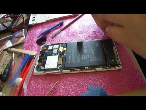Sony Xperia C3 - Замена экрана (тачскрина и дисплея)