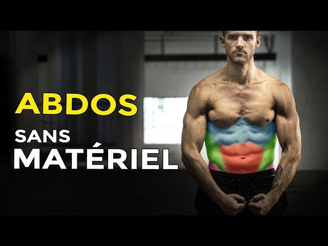 PROGRAMME ABDOS EN BÉTON SANS MATÉRIEL À LA MAISON