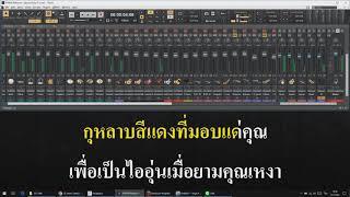 กุหลาบแดง แสดงสด V 2 Cover Karaoke Version