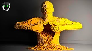 Las 7 Esculturas de Lego Más Asombrosas Del Mundo