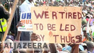 Kenya elections: Opposition holds rally in Mombasa