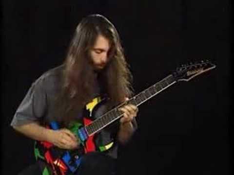 John Petrucci Guitar solo