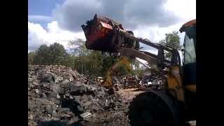 Video still for Screener Crusher Buckets -- Processing Shingles