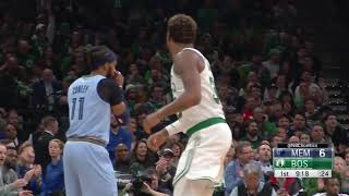 1st Quarter, One Box Video: Boston Celtics vs. Memphis Grizzlies