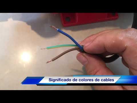 """Significado De Los Colores En Cables Eléctricos """"OJO NO ES LA NOM"""""""