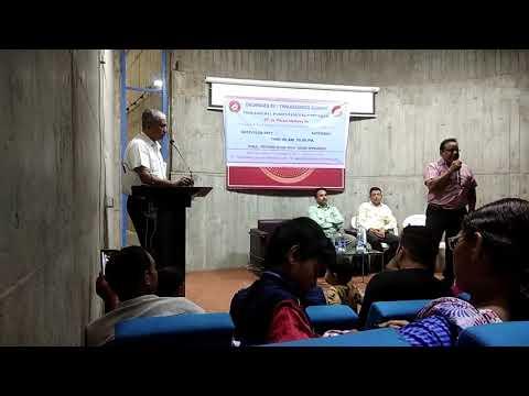 Dr.Vikram Mathew sir with Praful Joshi ahmedabad