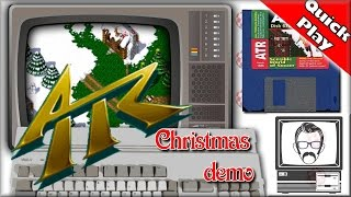 All Terrain Racing Christmas Demo - Amiga [Quick Play] | Nostalgia Nerd