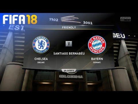 FIFA 18 Demo - Chelsea vs. FC Bayern München @ Estadio Santiago Bernabéu