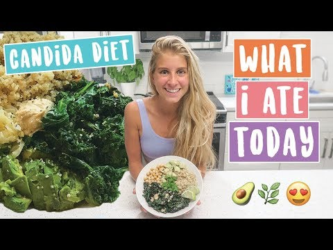 CANDIDA Diet » WHAT I ATE Today - YouTube
