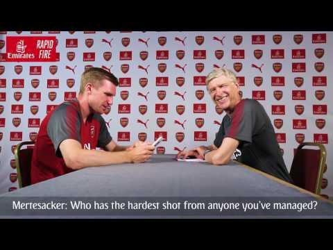 Per Mertesacker v Arsène Wenger | Emirates Airline