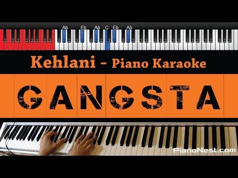 Kehlani - Gangsta - HIGHER Key (Piano Karaoke / Sing Along) From Suicide Squad