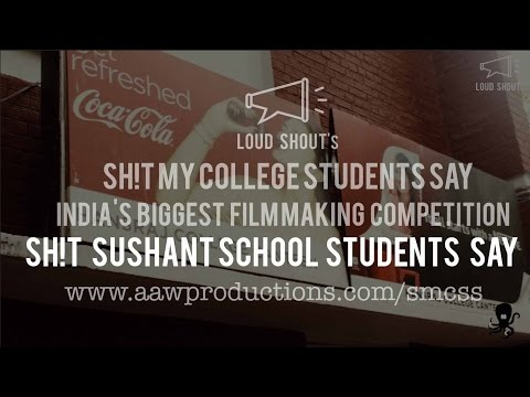 Sh!t Sushant School of Art and Architecture Students Say | India's BIGGEST Film Making Competition