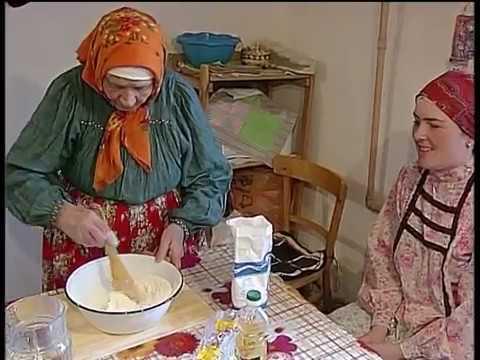 Как пекут традиционное русское печенье