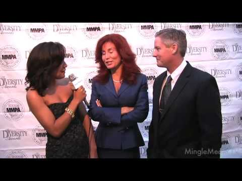 Red Carpet Report at the MMPA - Suzanne DeLaurentiis & David Martinon