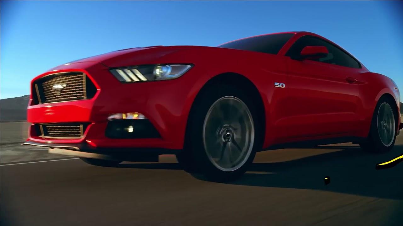 لوّن حياتك مع فورد موستانج GT Add color to your life with the Ford Mustang GT