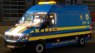 Euro Truck 2 Brasil: Van PRF - Polícia Rodoviária Federal