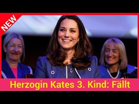 Herzogin Kates 3. Kind: Fällt Geburt auf Nationalfeiertag?