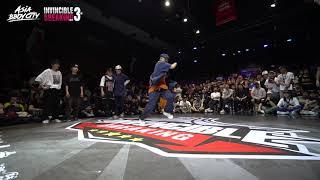 Bgirl Union vs Fusion MC | 16-8 | Crew Battle | Invincible Breaking Jam Vol.3