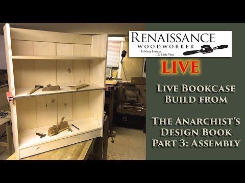 Live Bookcase Build Part 3: Assembly