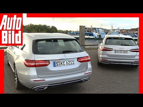 Audi A6 Avant vs Mercedes E-Klasse T-Modell (2018) Test / Details / Review